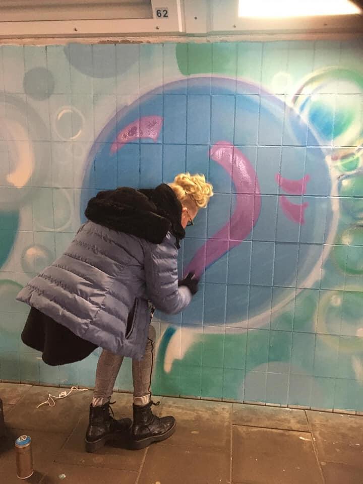 Burst Your Bubble: boodschap voor de stad in Kruisstraattunnel