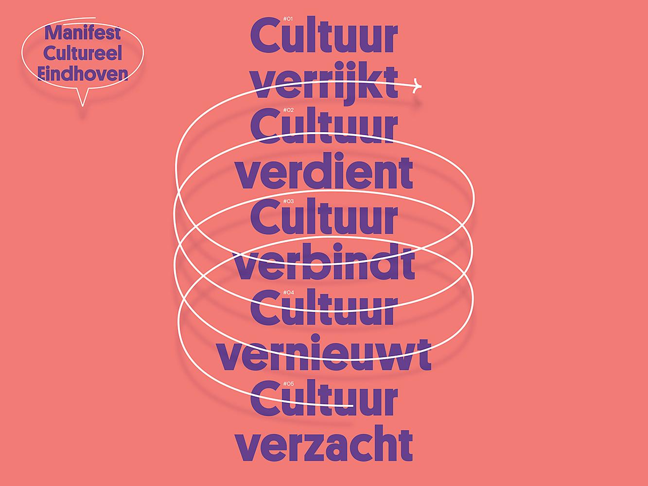 Cultureel Eindhoven presenteert Cultuurmanifest