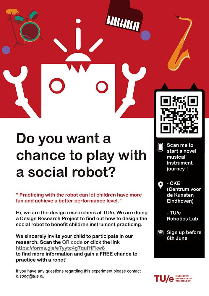 Gratis oefenen met een robot?