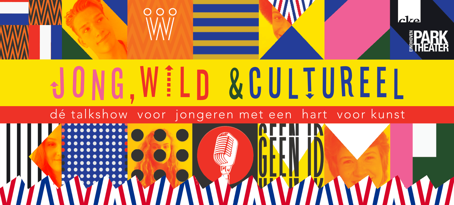 Talkshow 'Jong, wild & cultureel' krijgt prominente plek op Koningsdag