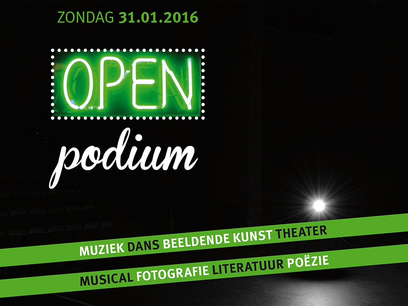 Videocompilatie open podium